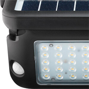 LED solar wall light with a motion sensor, 10 W GOOBAY 55488