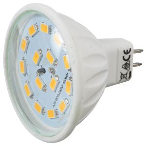 GreenLED GU5,3 SMD 110°, 5 W, 350 lm, 3000 K GREENLED 0017