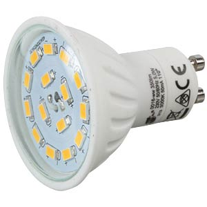 LED-Strahler GU10, 5 W, 360 lm, 6400 K GREENLED 0023