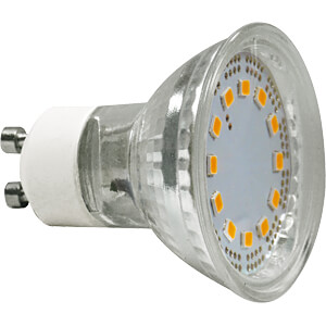 LED-Lampe GU10 3 W, 240 lm, 2700 K GREENLED 3943