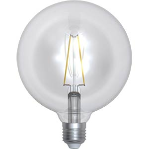 LED Filament Kugel 8 W klar SKYLIGHTING GNFL-1258F