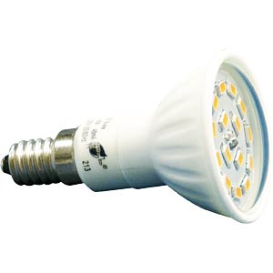 LED Spot E14, warmweiß, 4,8W, 450lm, EEK A GREENLED 0018