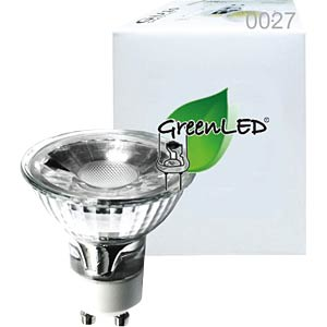GreenLED Strahler, MCOB 35°, 2,9 W, 200 lm, 3000 K GREENLED 0027