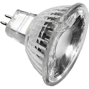 GU5.3 LED spotlight 2.8 W, 200 lm, warm white, EEC A+ GREENLED 0030