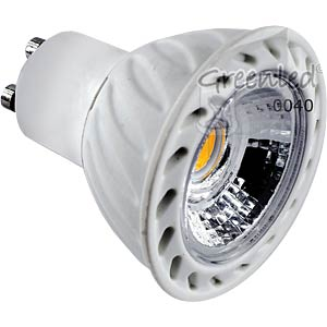 LED-Strahler GU10, 5 W, 310 lm, 3000 K GREENLED 0040