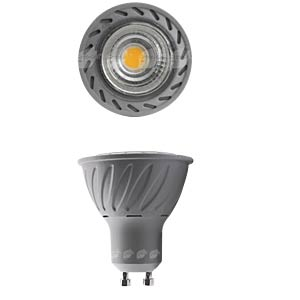 LED-Strahler GU10, 7 W, 380 lm, 3000 K GREENLED 0042