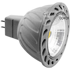 LED spotlight 7 W, 380 lm, warm white, EEC A GREENLED 0043