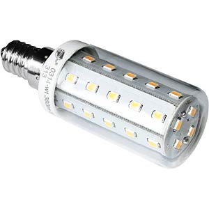 LED-Röhrenlampe E14, 4 W, 370lm, 3000 K GREENLED 0314