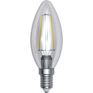 LED Filament Kerze 4W klar, EEK A++ SKYLIGHTING HCFL-1404F
