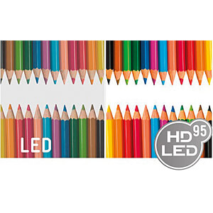 LED bulb E27, 10 W, 806 lm, 2700 K, HD95-LED MÜLLER LICHT 400251
