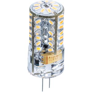 LED Leuchtmittel, G4, 1,8 W, 180 lm, warmweiß, EEK A++ HEITRONIC 16065