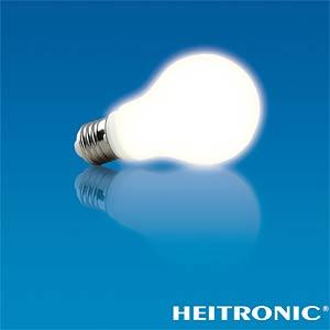 LED AGL-Form, 4,5 W, 300 lm, EEK A+ HEITRONIC 16457