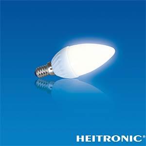LED Kerzenform, 4 W, 320 lm, EEK A+ HEITRONIC 16730