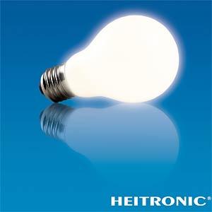 LED bulb, AGL design, 4.5 W, 350 lm, EEC A+ HEITRONIC 16755