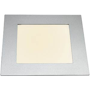 LED panel, rectangular, 10 W, dimmable, warm-white, EEC A HEITRONIC 27640