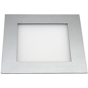 LED panel, rectangular, 11 W, dimmable, cool white, EEC A HEITRONIC 27641