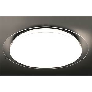 LED ceiling light 37 W, with remote control, EEC A HEITRONIC 27652