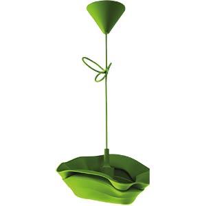 Silikon Pendelleuchte Jazz, E27 max. 40 W, grün, EEK A++ - E HEITRONIC 27711