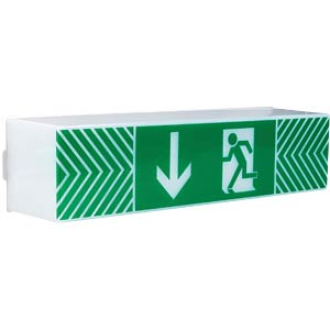 LED Guide - emergency lighting, IP54 HEITRONIC 27966