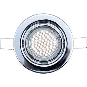 LED recessed spotlights, set of 3 - warm-white, EEC A+ HEITRONIC 30162
