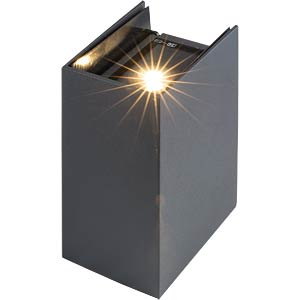 LED wall light, TILO, EEC A HEITRONIC 37062