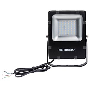LED floodlight, Powerful, 25 W nw, EEC A+ HEITRONIC 373660
