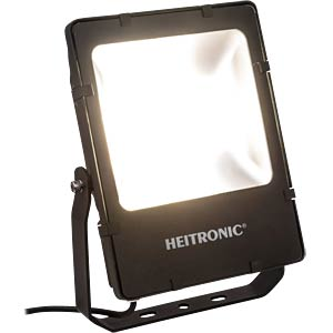 LED floodlight, Powerful, 50 W nw, EEC A+ HEITRONIC 37361