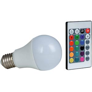 LED bulbs, RGB + WW, 7.5 W HEITRONIC 16383