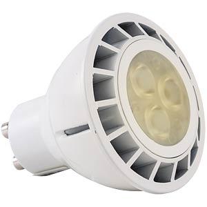 LED spotlight GU10, 4 W, 220 lumen ww, EEC A+ HEITRONIC 16702