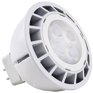 LED-Stiftsockellampe GU5,3, 6 W, 300 lm, 6400 K HEITRONIC 16709