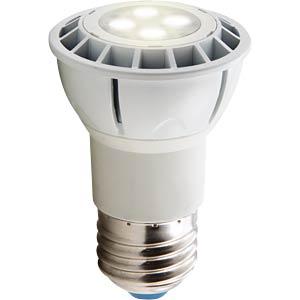 LED Strahler E27 6 W, warmweiß, EEK A HEITRONIC 16712