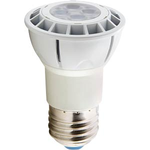 LED spotlight E27, 6 W, ww, EEC A HEITRONIC 16712