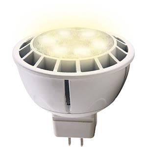 LED spotlight GU5.3, 7 W, 400 lumen cw, EEC A HEITRONIC 16717