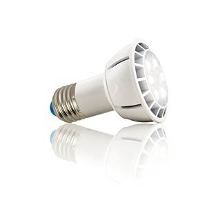 LED floodlight E27, 7W, cold white, EEC A HEITRONIC 16721