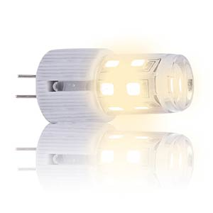 LED bulb, G4, 2 W, 190 lm, white, EEC A++ HEITRONIC 16894