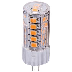 LED bulb, 3 W, 300 lm, white, EEC A+ HEITRONIC 16897