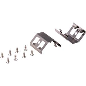 Retaining clip Mecano, pack of 2, 90° HEITRONIC 21409
