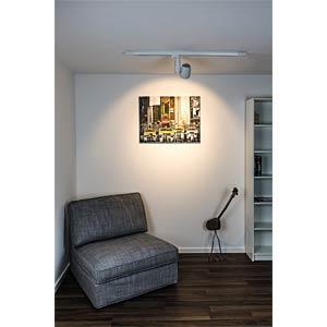 Track-mounted LED spotlight, RAIO, 45 W, 45° HEITRONIC 26059