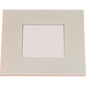 LED-Panel, 2,2 W, 23 lm, 2700 K, 74 x 74 mm, weiß HEITRONIC 27632