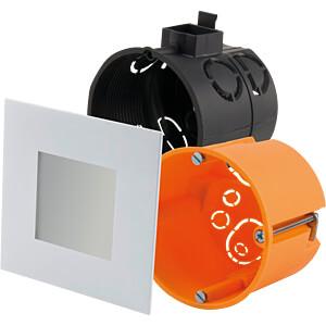 LED-Panel, 2,2 W, 23 lm, 2700 K, 74 x 74 mm, weiß HEITRONIC 27632