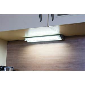 MIAMI warm white LED under-cabinet lamp, 92cm, EEC A++ - A HEITRONIC 28472