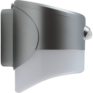 LED-Solarleuchte, Wandleuchte, IP44, Alexandria HEITRONIC 37359