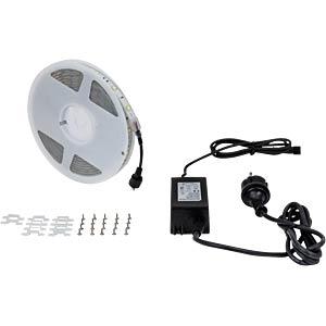 LED strip, 5m, neutral white, outdoor HEITRONIC 38305