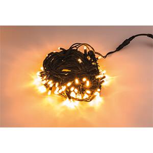 LED Lichterkette, 20 m, warmweiß, außen HEITRONIC 39733