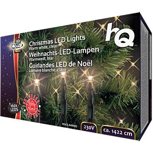 Weihnachtsbeleuchtung mit 160 LED-Lampen HQ HQCLS48662