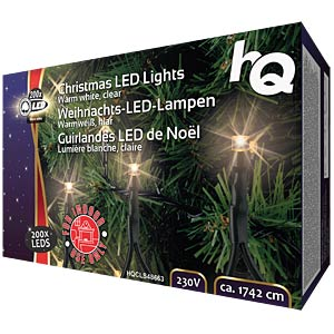 Weihnachtsbeleuchtung mit 160 LED-Lampen HQ HQCLS48663
