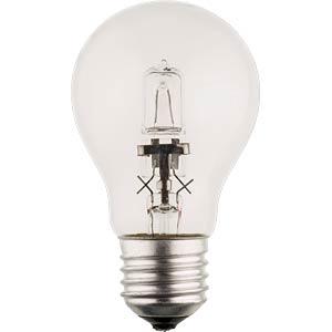 Halogenlampe E27, 42 W, 630 lm, 2800 K, dimmbar HQ HQHE27CLAS003