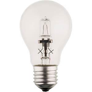 Halogenlampe E27, 53 W, 850 lm, 2800 K, dimmbar HQ HQHE27CLAS004