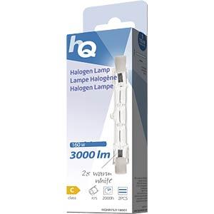 2 pcs. J118 R7S 160 W 3.000 lm 2.800 K, EEK C HQ HQHR7SJ118001
