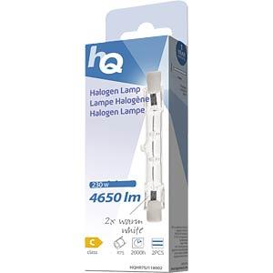 Halogenstab R7s, 230 W, 4650 lm, 2800 K, 2er-Pack HQ HQHR7SJ118002